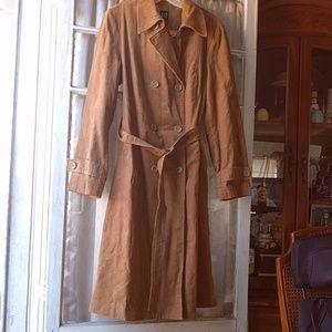 NWOT Corduroy Trench Coat W/ Belt